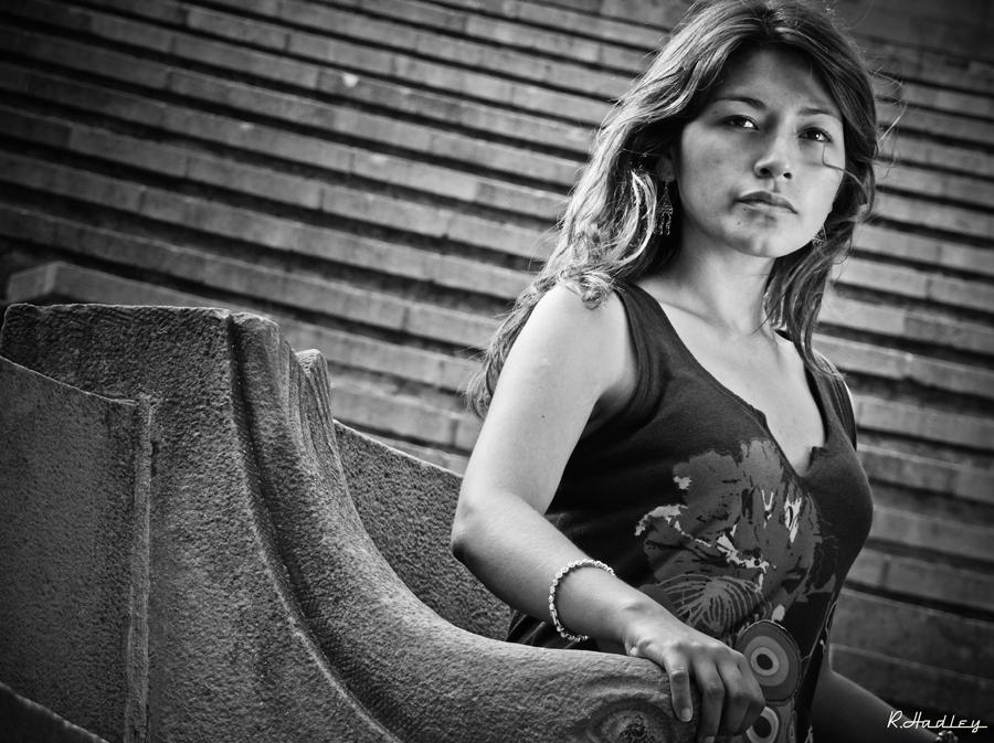Portrait Hiromi Torres in GREC in Barcelona
