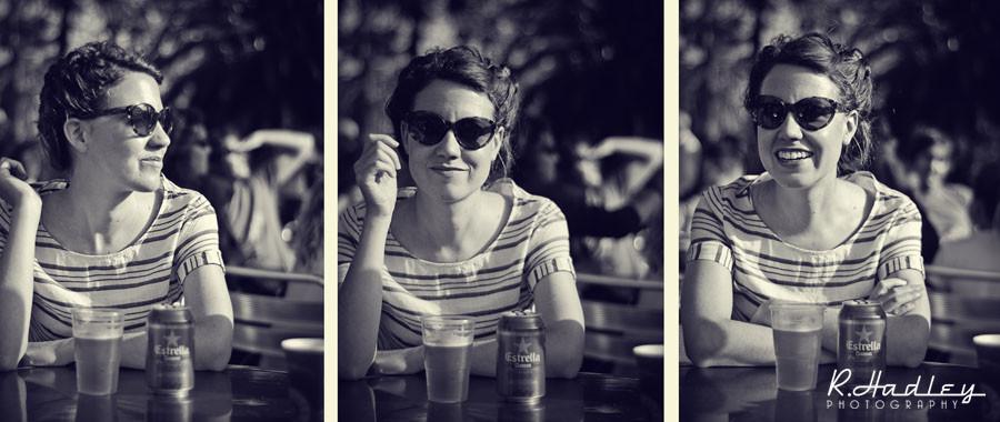 Photogrqaphy portrait of Emily McBride in Barcelona