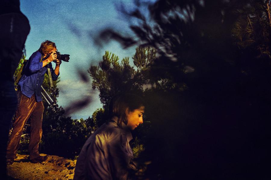 Ben Evans in Park Guell, Barcelona