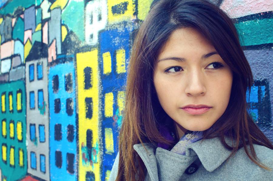 Portrait in Girona, Spain.