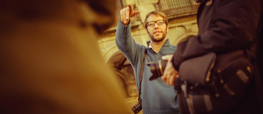 Portrait of Ben Evans in Girona, Spain.