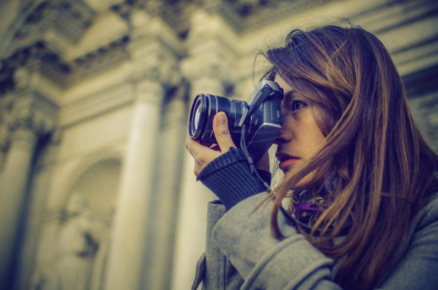 Portrait in Girona with Fujifilm X-e1  camera