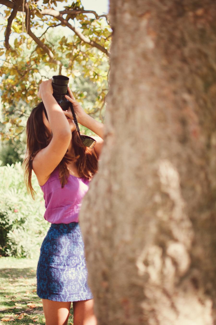 Hiromi Torres in Parc de la Ciutadella, Barcelona