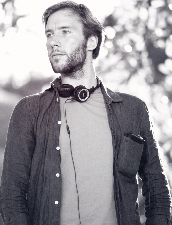 Ben Evans in Parc de la Ciutadella, Barcelona