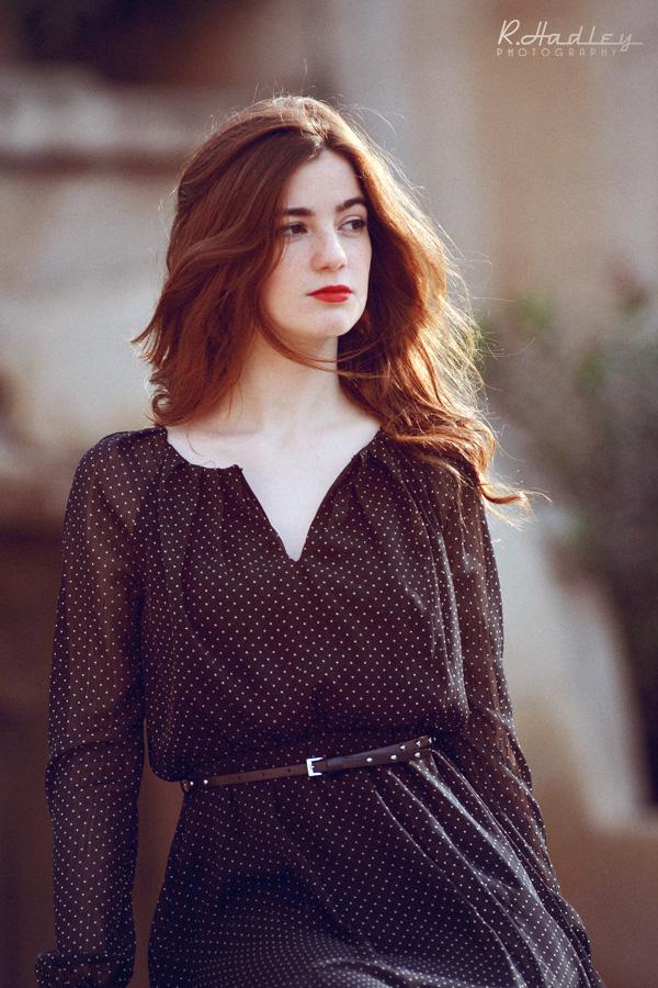 Portrait of Carmen Thorburn in Barcelona