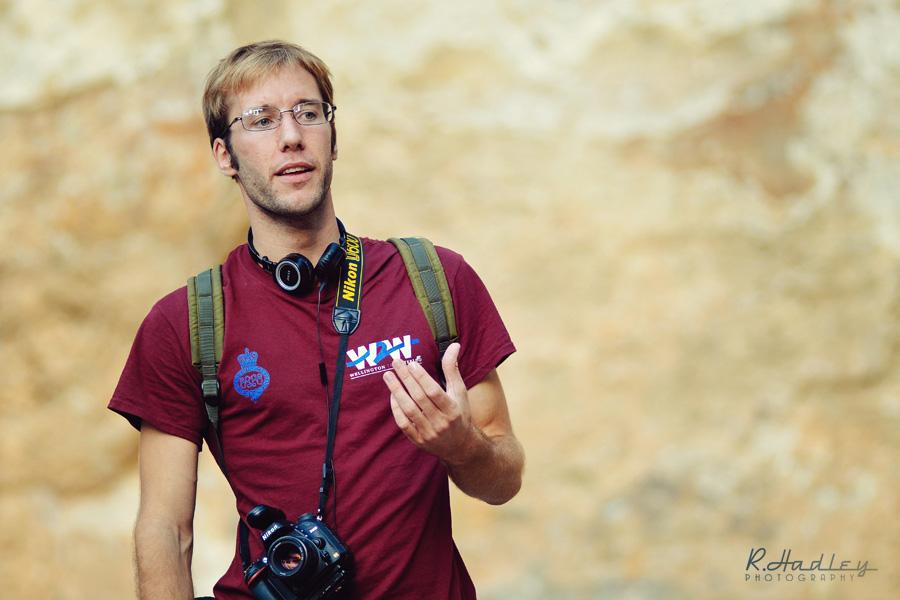Portrait Ben Evans in Barcelona
