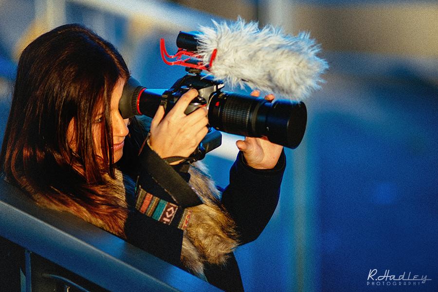 Portrait of photographer in Barcelona