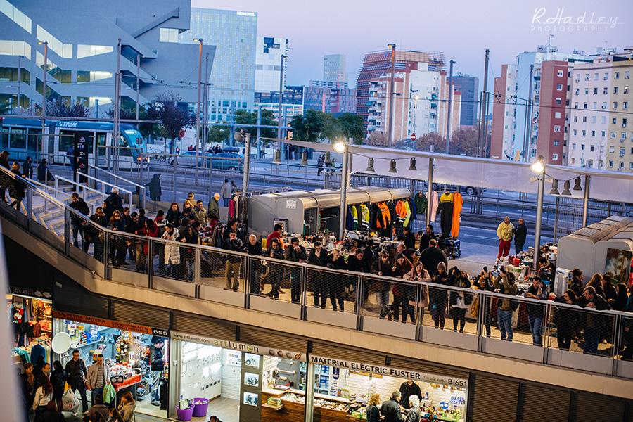 Encants Market in Barcelona