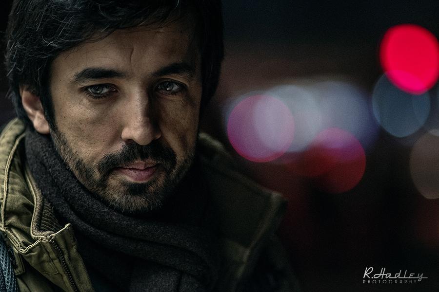 Portrait Rui Figueira in Barcelona