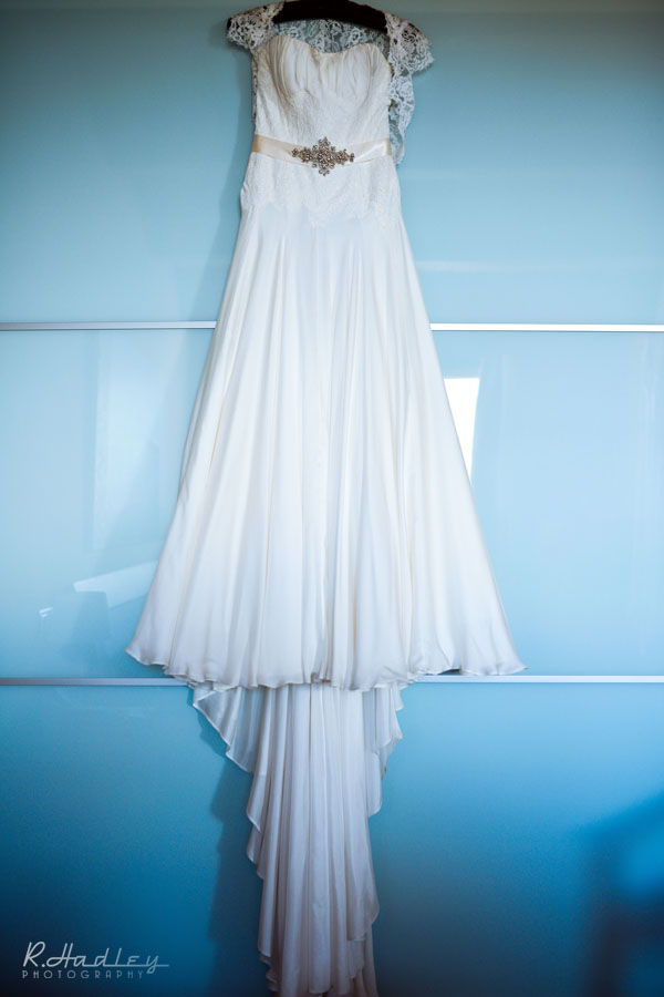 Brides dress at Hotel Estela Barcelona