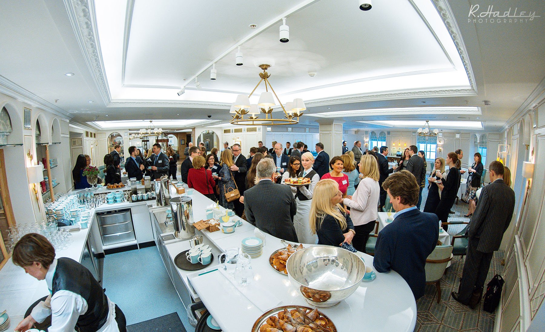 Corporate photography event at Fortnum & Mason, London