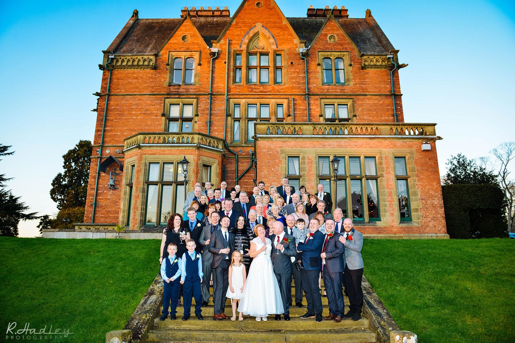 Wedding at Wroxall Abbey Hotel & Estate, Warwickshire