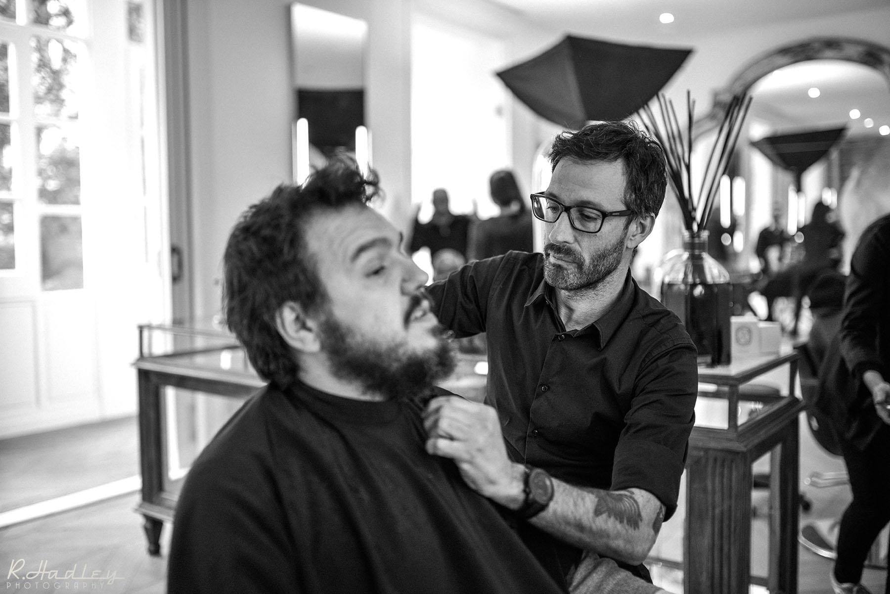 On Set Photographer for Carolina De Santis film production at Salon Toro, Barcelona