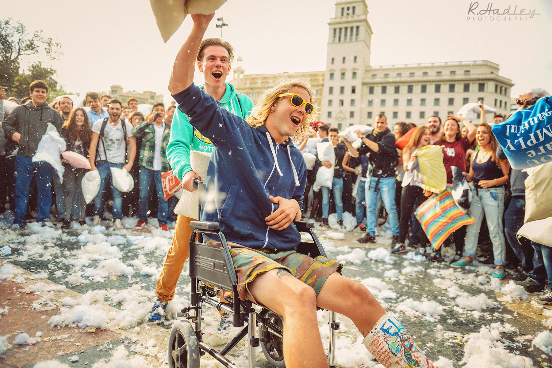 Event | Pillow Fight | Barcelona