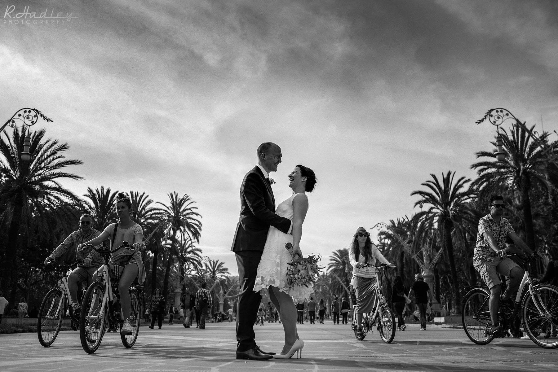 Norwegian wedding in Barcelona