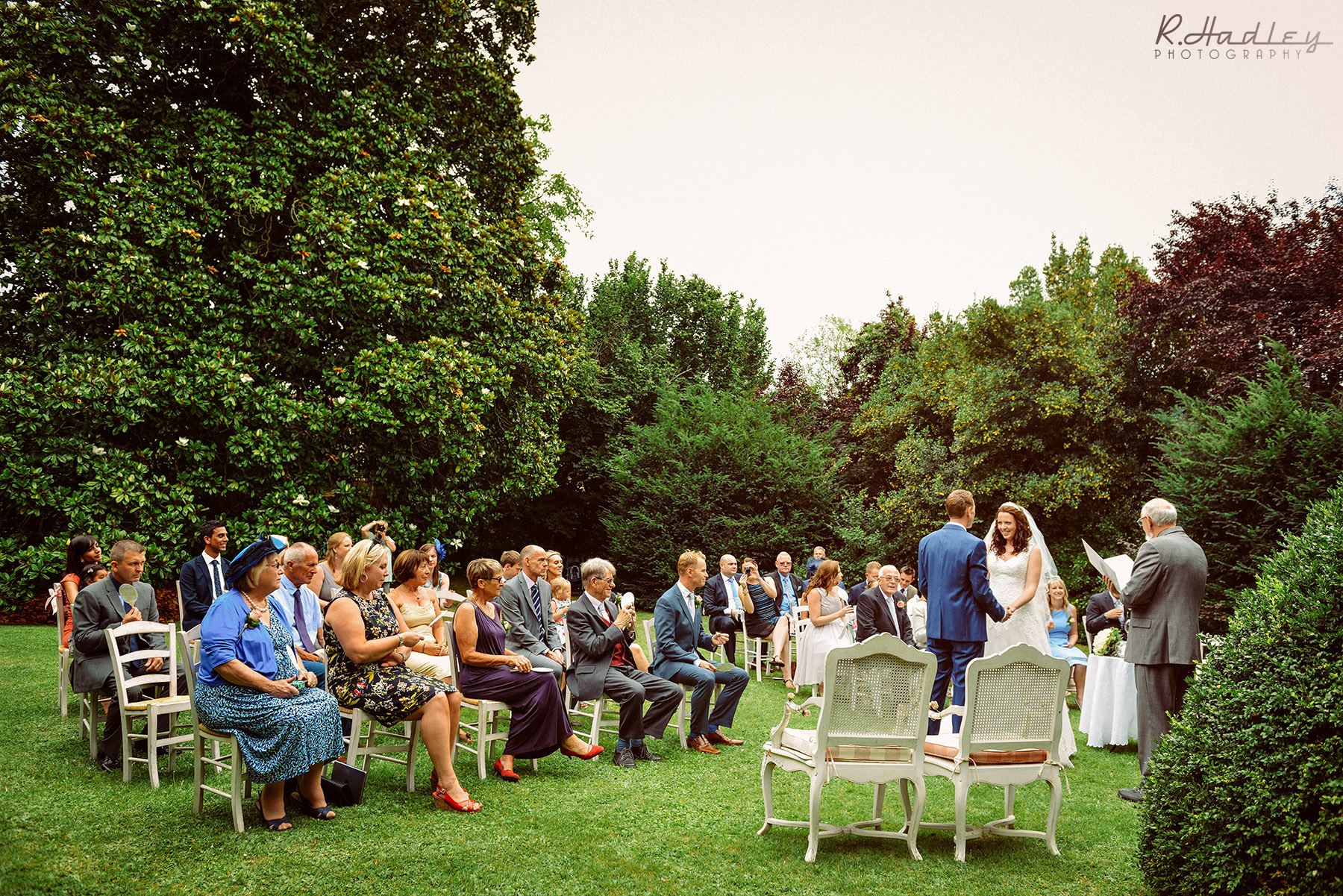 Wedding at L'Abbaye-Château de Camon, South of France