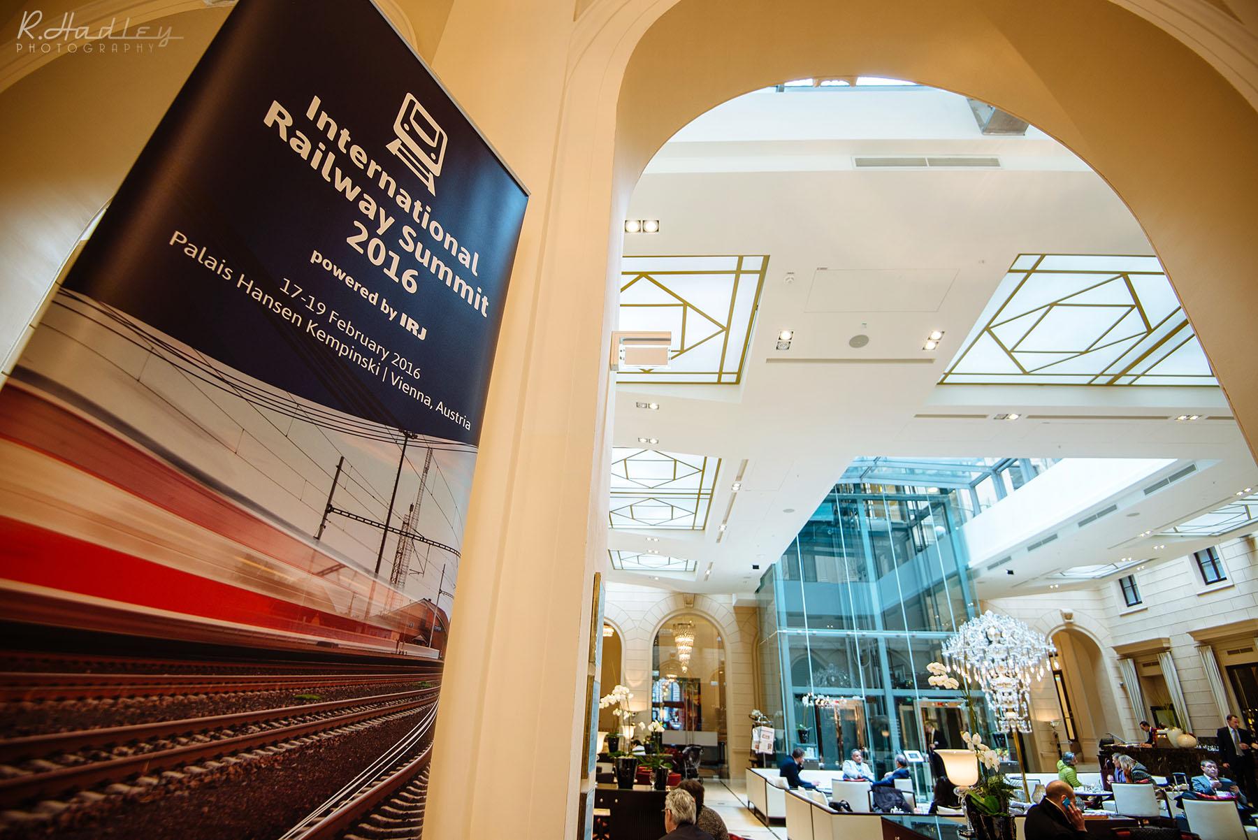 Event photography at the Palais Hansen Kempinski, Vienna, Austria