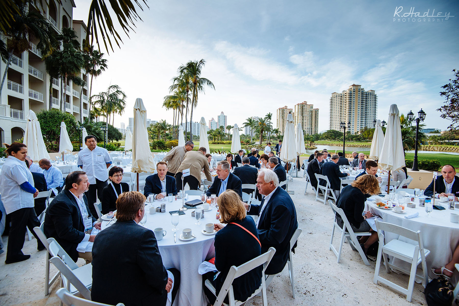 Corporate event at Turnberry Isle, Miami