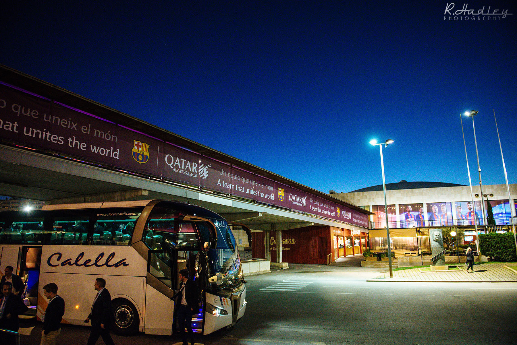 Corporate Event Photographer at Camp Nou in Barcelona