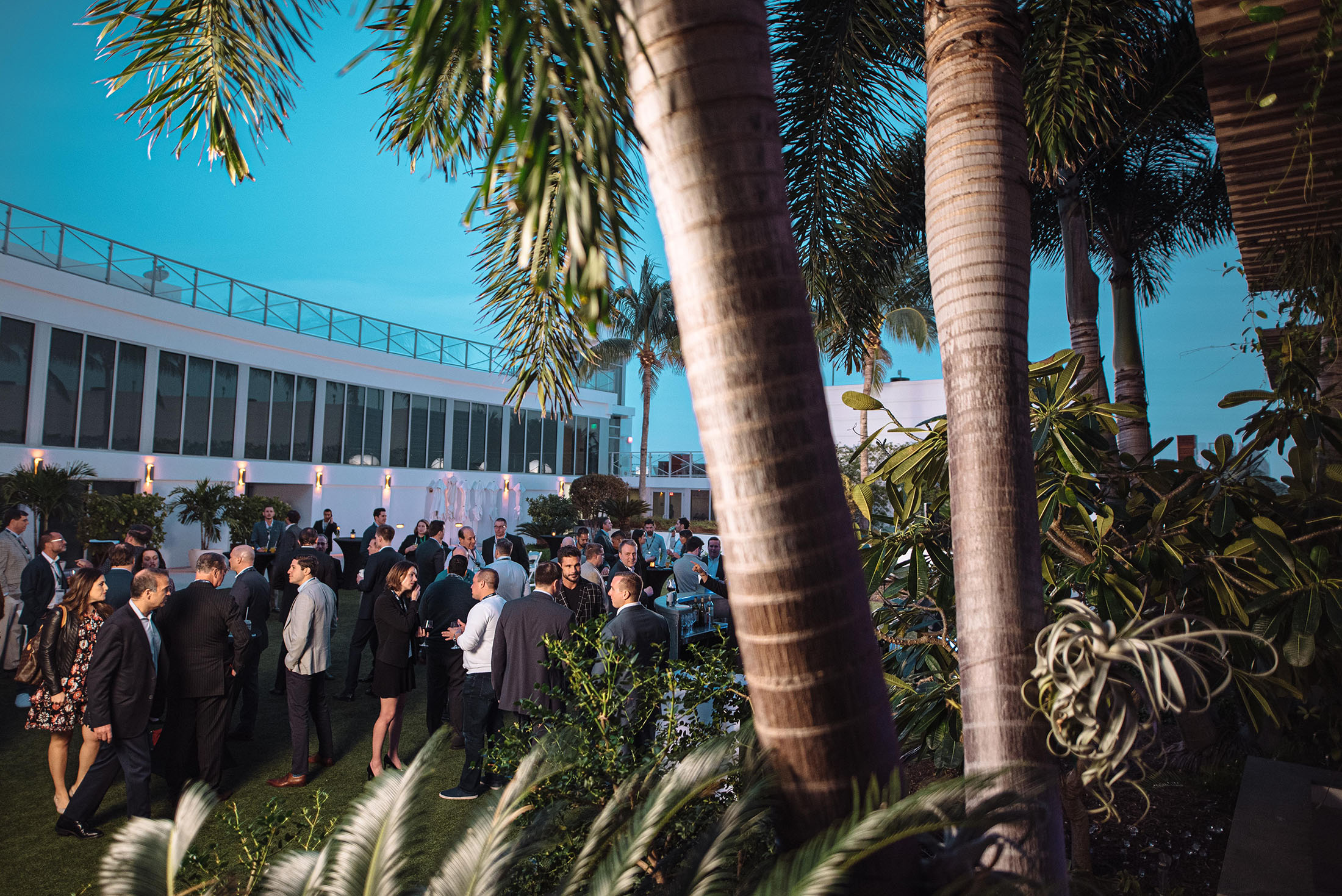 Event photographer at the Eden Roc Hotel in Miami Florida