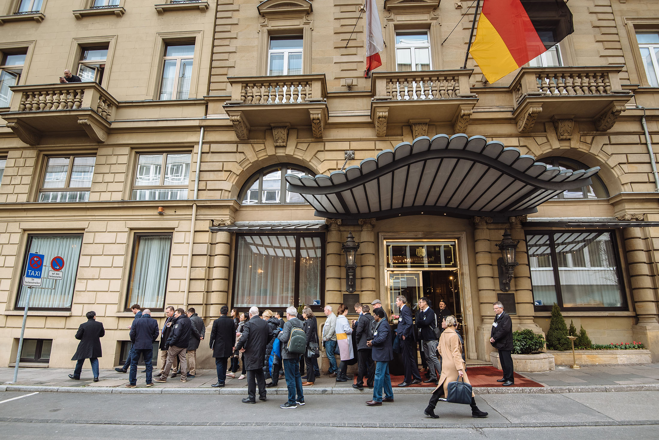 Corporate event photographer at the Steigenberger Frankfurter Hof Hotel in Frankfurt Germany