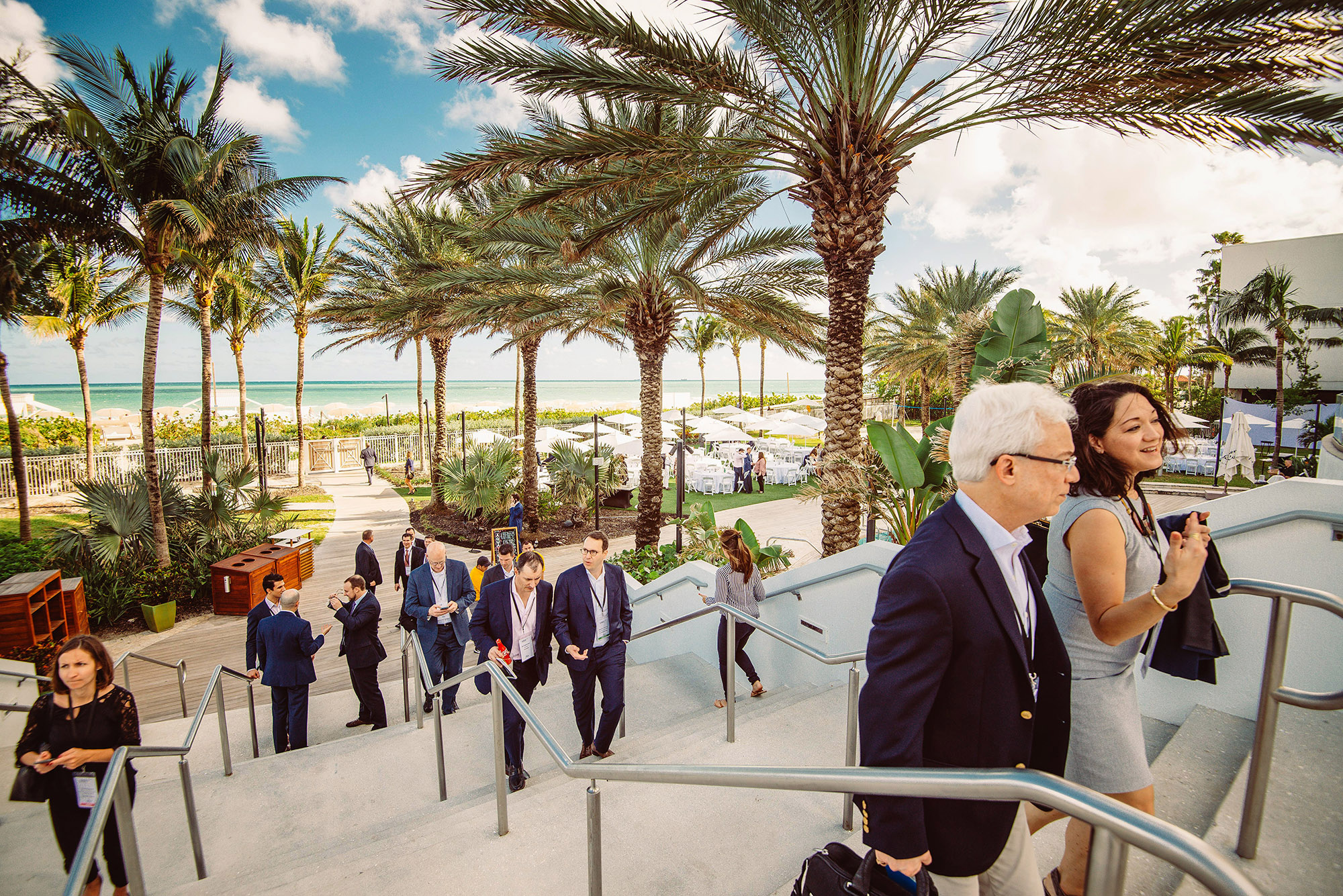 Corporate Event photographer Richard Hadley at the Eden Roc in Miami