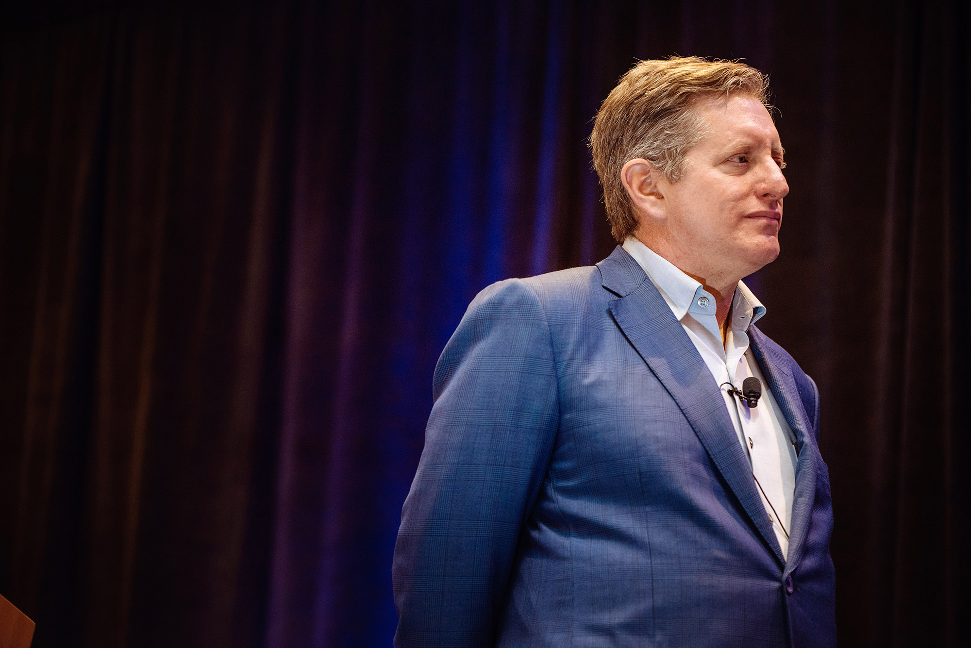 Event photography at the Eden Roc in Miami with guest speaker; Steve Eisman - 'big short' investor who bet on the crash.