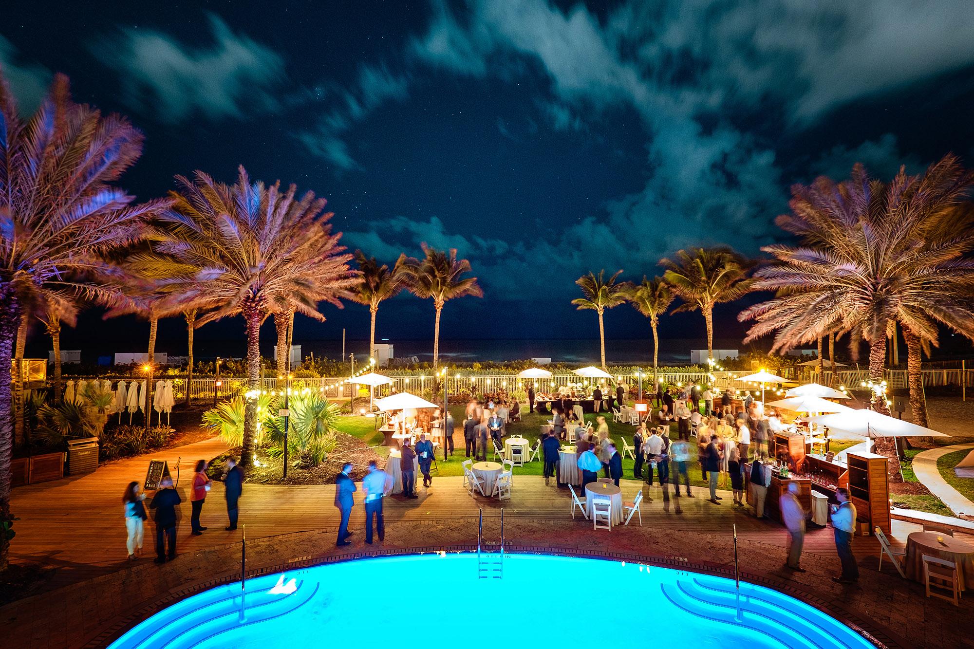 Corporate Event photographer Richard Hadley at the Eden Roc in Miami
