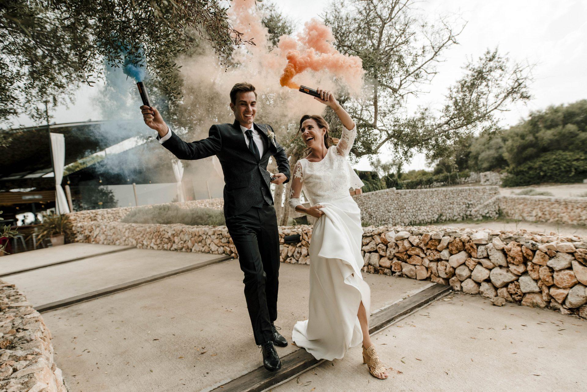 Wedding Photographer and Videographer at  Bodegas Binifadet in Menorca