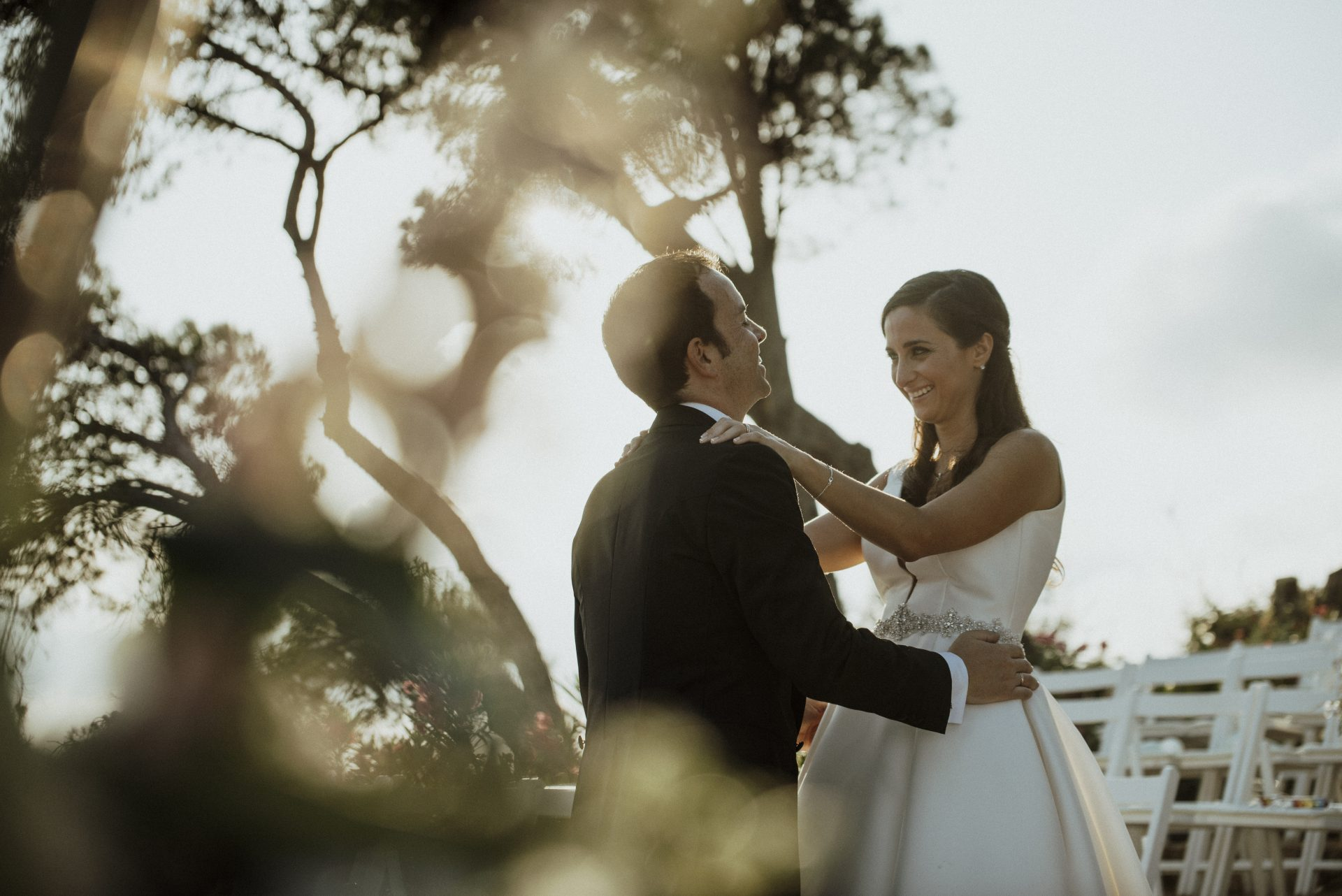 Wedding photographer and videographer at Convent de Blanes in Costa Brava