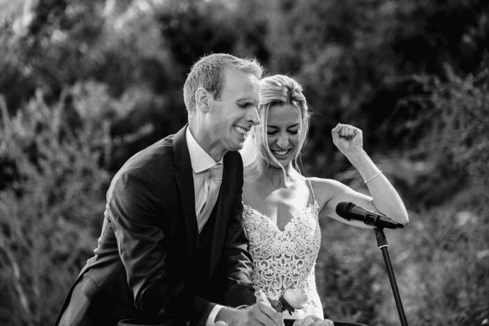 Wedding photographer and videographer at Almiral de la Font in Sitges near Barcelona